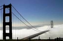 Golden Gate we mgle